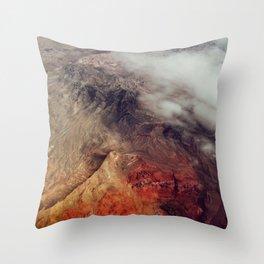 Arizona Mountains Throw Pillow