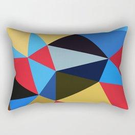Geometric Abstract Art Pattern Eleven Rectangular Pillow