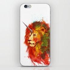 King of Imaginary Beasts iPhone & iPod Skin