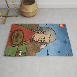 Wolfgang from Earth (Clavicembalo) Rug