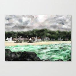 Millport Shore-Front, Isle of Cumbrae, West Coast of Scotland [1] Canvas Print