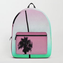 Pastel Palm trees Backpack