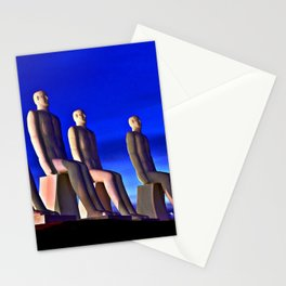 MAN AT SEA  - Danish Sculpture Stationery Cards