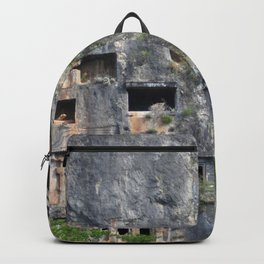 Rock Tombs Photograph Fethiye Backpack