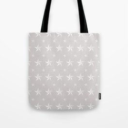 Stella Polaris Light Grey Design Tote Bag