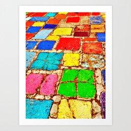 Balboa Park tile 3 Art Print