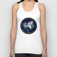 ursula Tank Tops featuring Ursula by Mazuki Arts