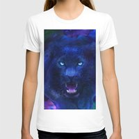 panther T-shirts featuring Panther by Michael White