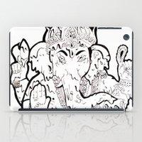 ganesha iPad Cases featuring Ganesha by Sofia Bernikova