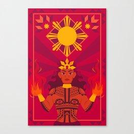 Apolaki: The Philippine Sun God Canvas Print