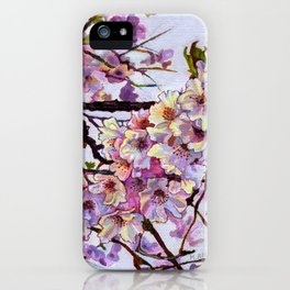 The Cherry Branch iPhone Case
