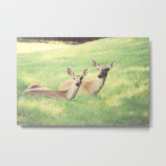 Oh, Deer Metal Print
