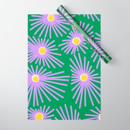 New England Asters Wrapping Paper