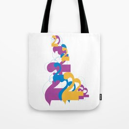 """Alap 28 """"Allap to the 28th Power"""" Tote Bag"""