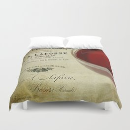Wine Duvet Cover