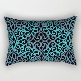 celtic blue Rectangular Pillow
