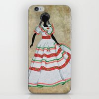 mexico iPhone & iPod Skins featuring Mexico by Dany Delarbre