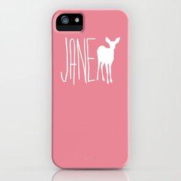 Life is Strange - Jane Doe iPhone Case