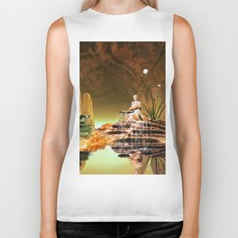 The mysterious underwater cave Biker Tank