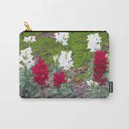 Red and White Hyacinths Carry-All Pouch