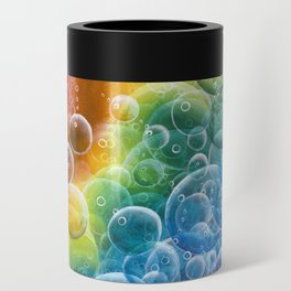 Rainbow of Impact Bubbles Can Cooler