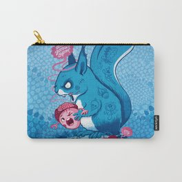 Zombie Squirrel Carry-All Pouch