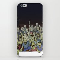 zombies iPhone & iPod Skins featuring Zombies!!! by Justin McElroy