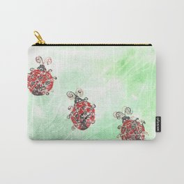 Ladybug Parade Carry-All Pouch