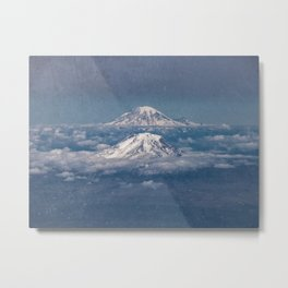 Mount Adams Mt Rainier - PNW Mountains Metal Print