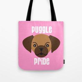 puggle pride pink Tote Bag