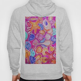 Colorful Seashells Hoody