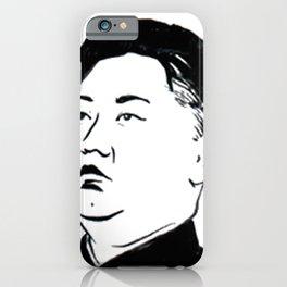 kim jong un iPhone Case