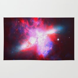 Space. In Color. Rug