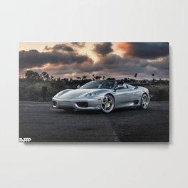 F360 Metal Print