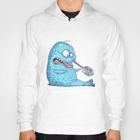 narwhal Hoodies featuring Narwhal by Matt Byle