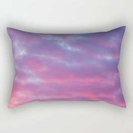 Cloudy Sunset Rectangular Pillow