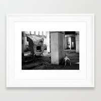 nightmare Framed Art Prints featuring nightmare by MatoSwamp