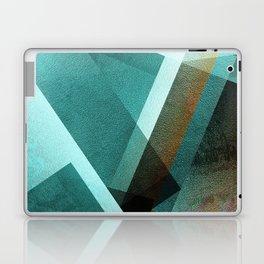 Aqua Rust - Digital Geometric Texture Laptop & iPad Skin
