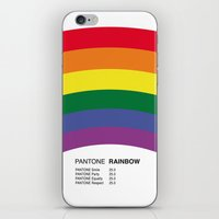 pantone iPhone & iPod Skins featuring Pantone RAINBOW by Alberto Lamote de Grignon