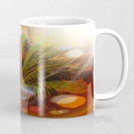 Tropical plants and flowers Coffee Mug