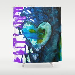 Eternal Heart No. 13J by Kathy Morton Stanion Shower Curtain