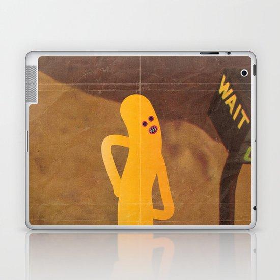 w a i t Laptop & iPad Skin
