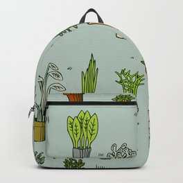 Potted Plants Backpack