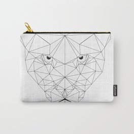 Puma black and white Geometric artwork Carry-All Pouch