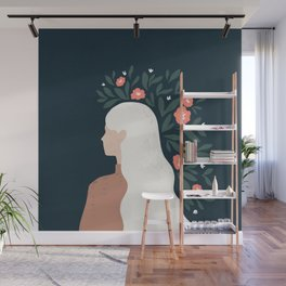 she blooms Wall Mural
