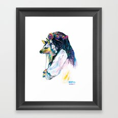 dear my love Framed Art Print