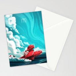 Porco Rosso Stationery Cards