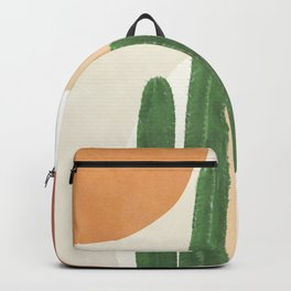 Abstract Cactus I Backpack