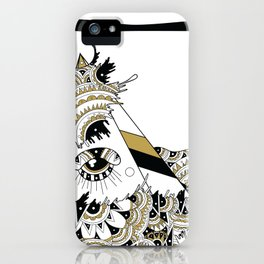 Tides of Individuation iPhone Case
