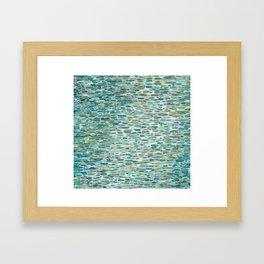 Spring Waterfall Framed Art Print